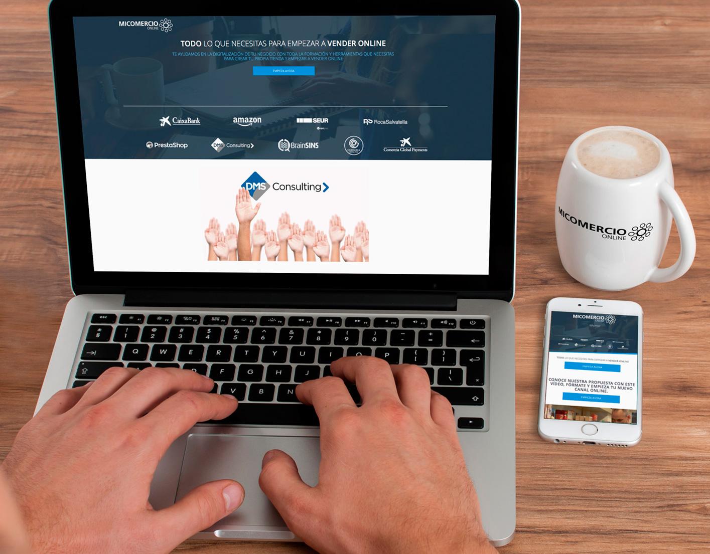 DMS Consulting ist Teil einer Allianz von verschiedenen Unternehmen zur Förderung des e-commerce