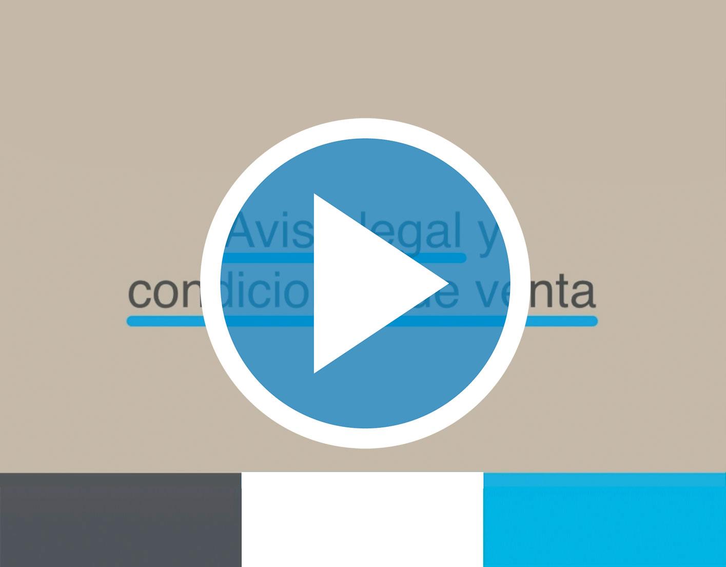 VIDEOPOST: Aviso Legal y Condiciones de venta