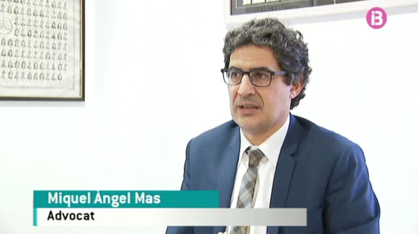 Miquel Àngel Mas Colom habla del alquiler vacacional en IB3 Televisión