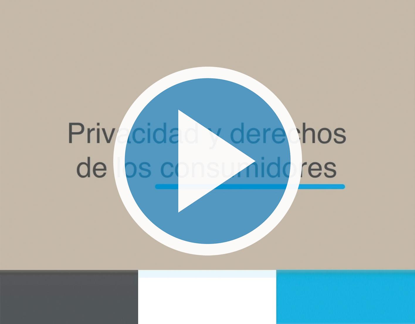 VIDEOPOST: Privacidad y derechos de los consumidores