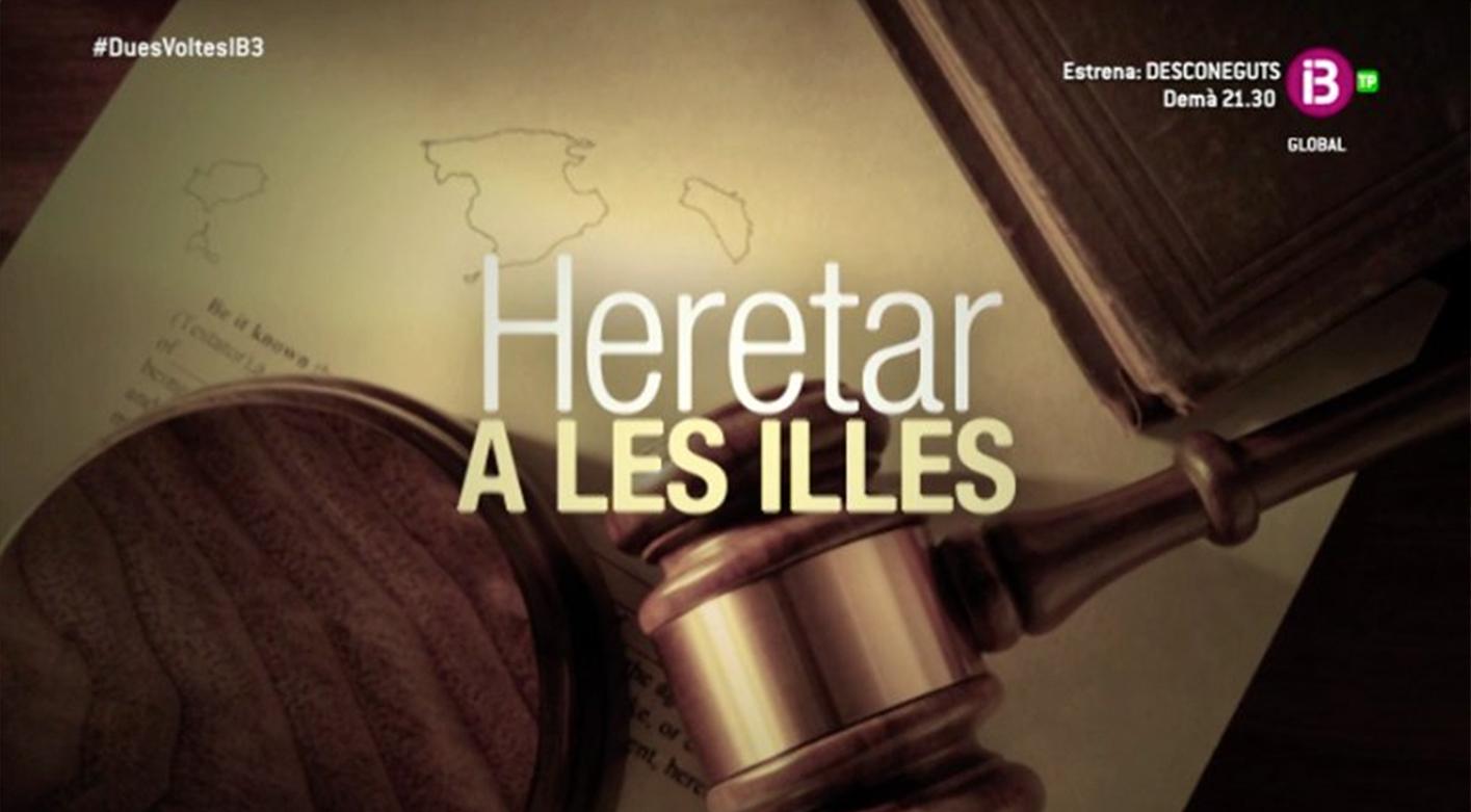 Alejandro Del Campo y Miquel Àngel Mas hablan de herencias y fiscalidad en el programa Dues Voltes.
