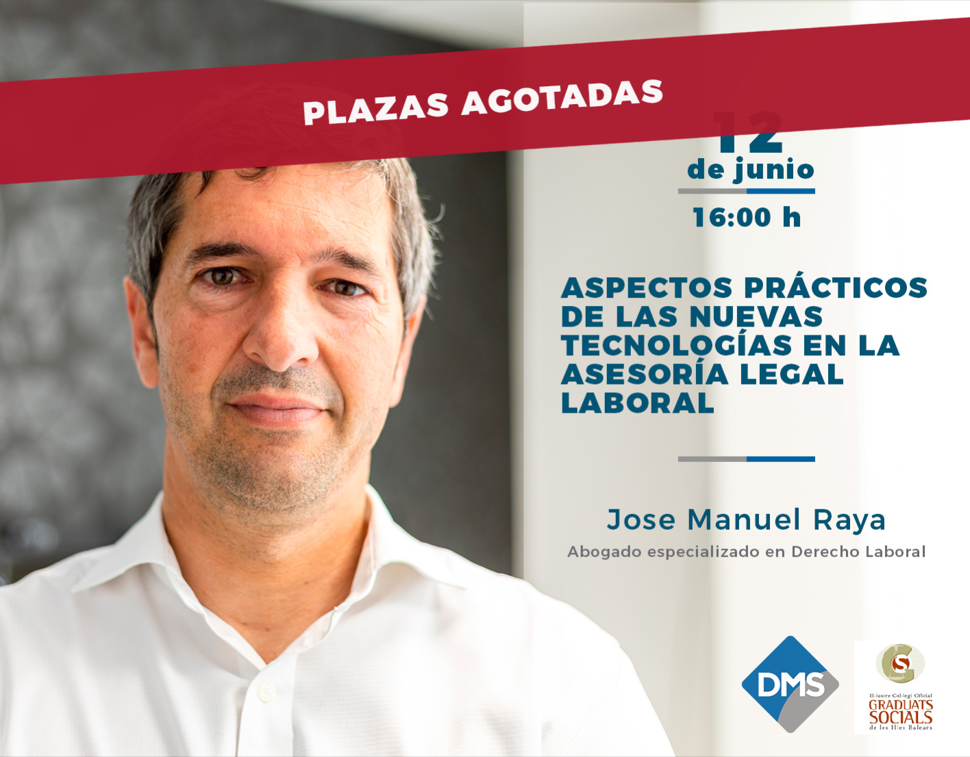 Taller de José Manuel Raya sobre nuevas tecnologías en la asesoría legal laboral