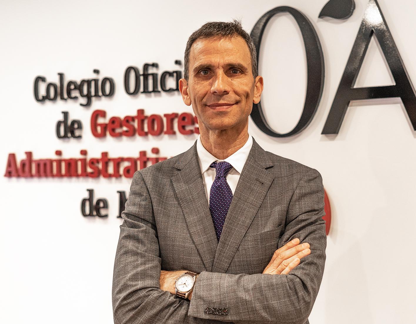 Alejandro Del Campo ponente en el Colegio de Gestores Administrativos de Málaga