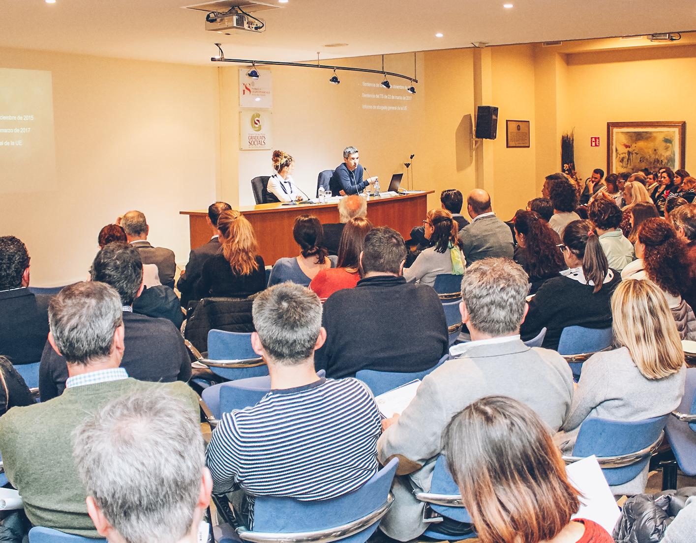 Conferencia de José Manuel Raya sobre la nueva ley de registro de jornada