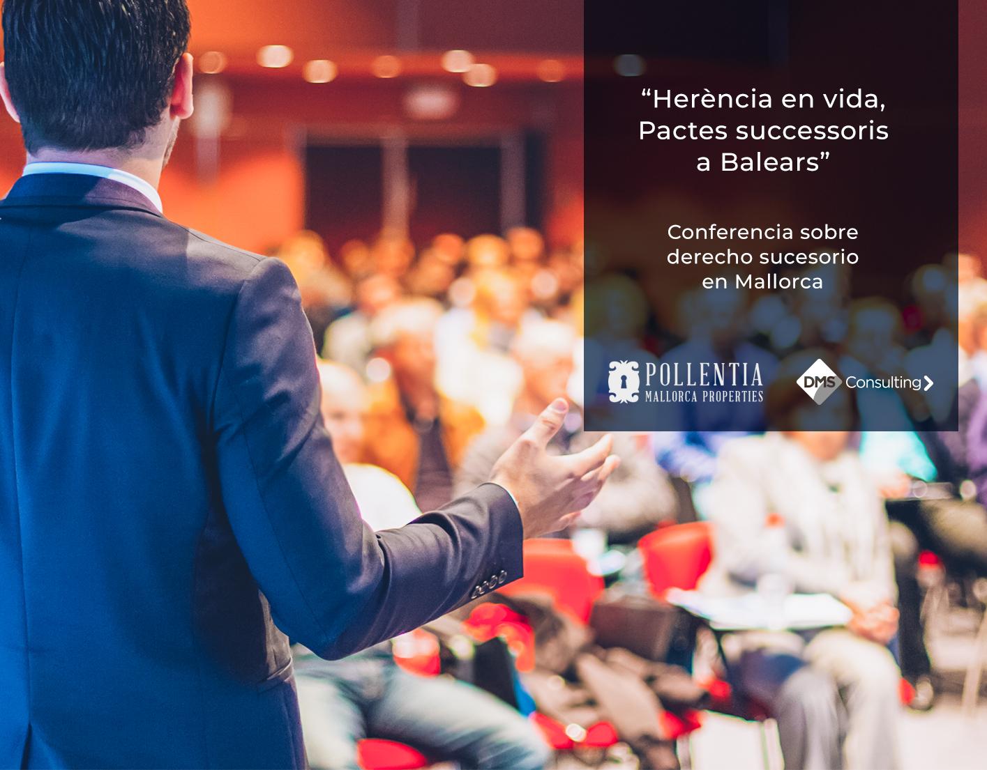 Conferencia sobre Derecho Sucesorio en Mallorca
