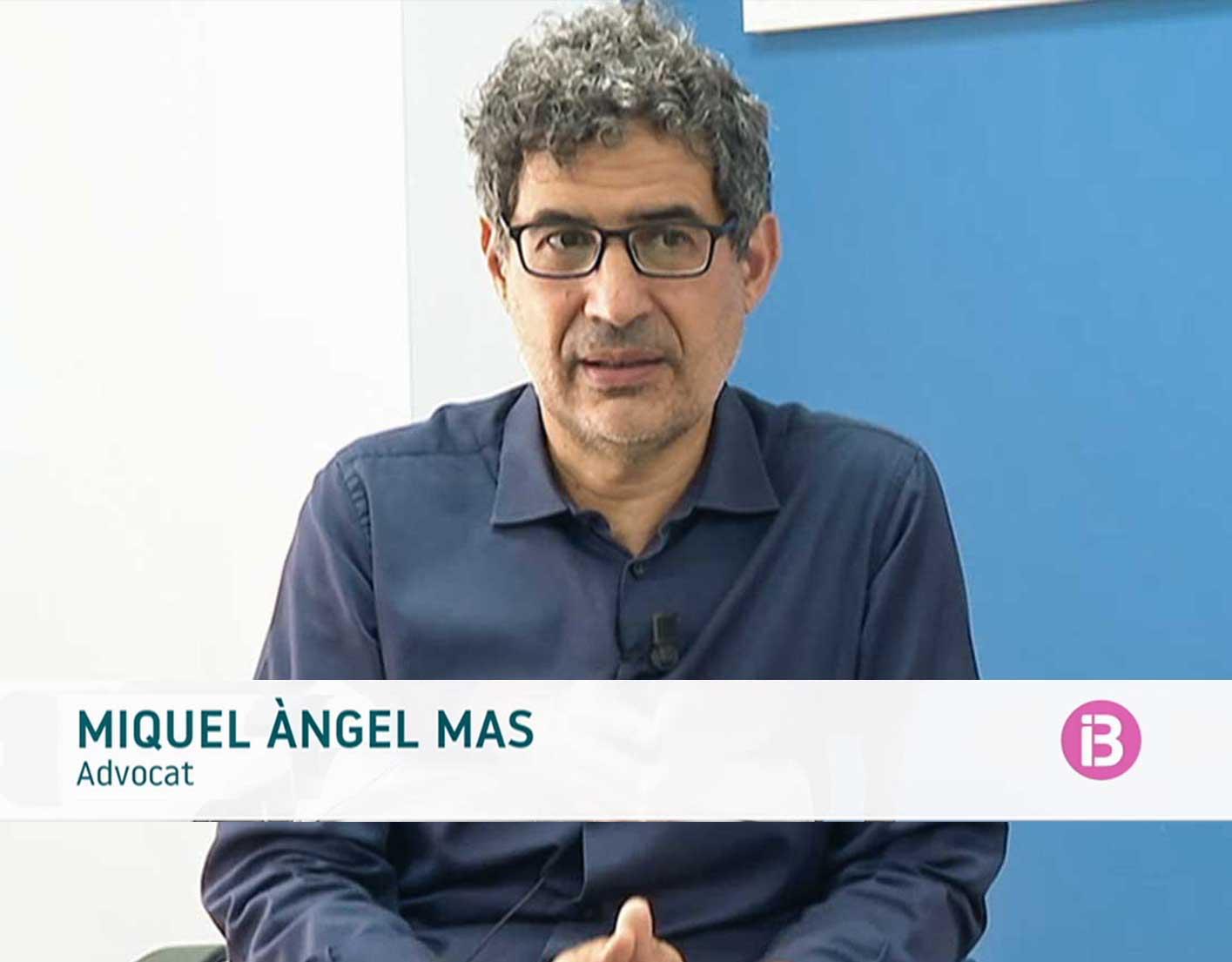 Miquel Àngel Mas comenta a IB3 la nova llei que elimina les incapacitacions judicials per a les persones amb discapacitat